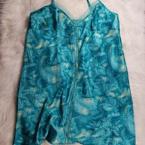 Turquoise night gown extra large